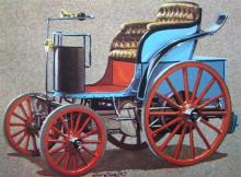 La voiture électrique de Jeantaud