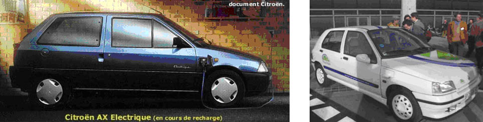 Voitures électriques Citroën Renault CLio