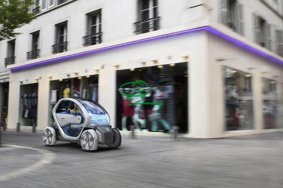 la renault twizy micro urbaine d tonnante voiture electrique. Black Bedroom Furniture Sets. Home Design Ideas