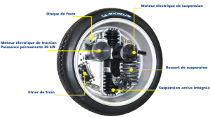 Michelin-active wheel