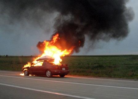 La sécurité des batteries d'une voiture électrique (incendie)