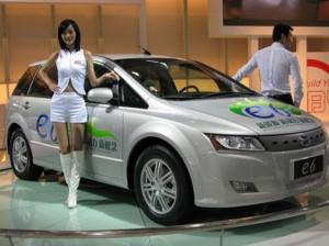 La BYD e6 est le nouveau taxi électrique de Hong-Kong.