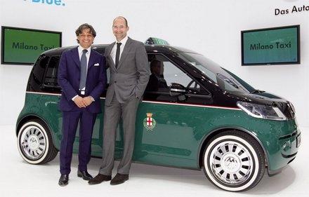 Le concept Milano pour les Taxi de VW