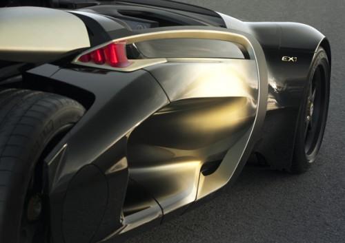 Peugeot EX1 intérieur