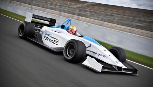 F1 electrique - L'electric formula ef01