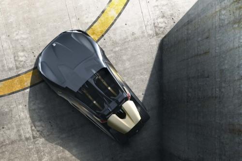 Peugeot EX1 dessus