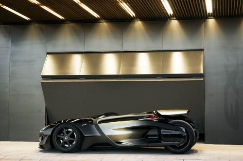Peugeot EX1 profil