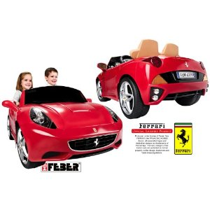 ferrari california lectrique pour enfant famosa voiture electrique. Black Bedroom Furniture Sets. Home Design Ideas