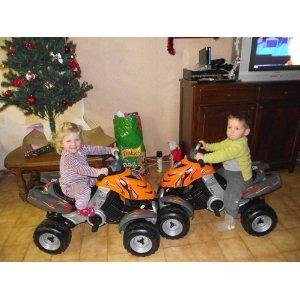 5161f9469d6f Quad électrique Smoby X Power pour enfant   Voiture Electrique
