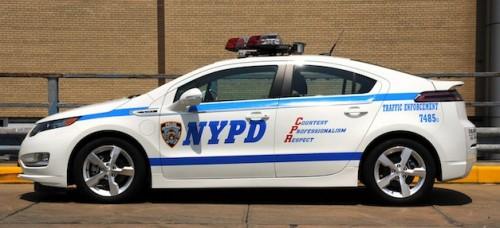 chevrolet volt new york police