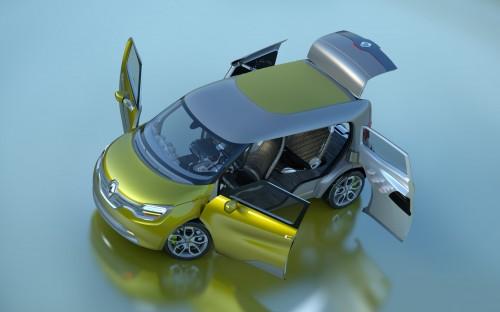 renault frendzy ze concept car