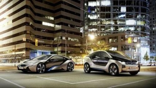 BMW voiture electrique