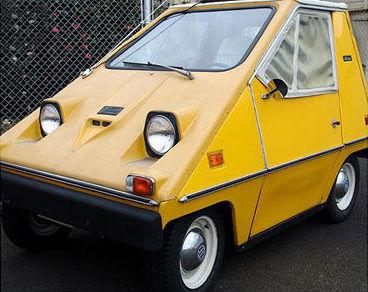 La première voiture électrique Citicar