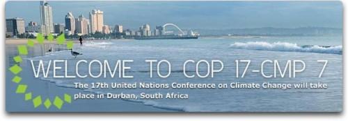La conference sur les changements climatiques menée par l'ONU aura lieu a Durban en 2011