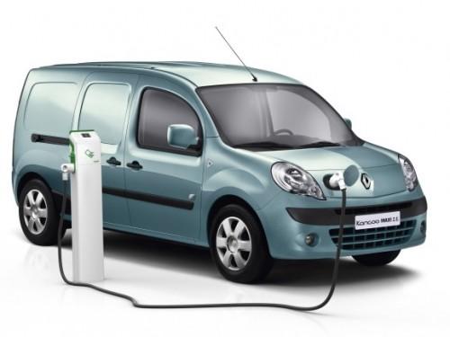 Le Renault Kangoo ZE