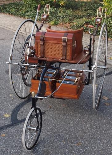 première voiture électrique de l'histoire