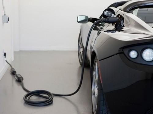 La Tesla Roadster, voiture électrique de sport