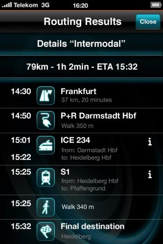 L'appli Iphone pour BMW i3