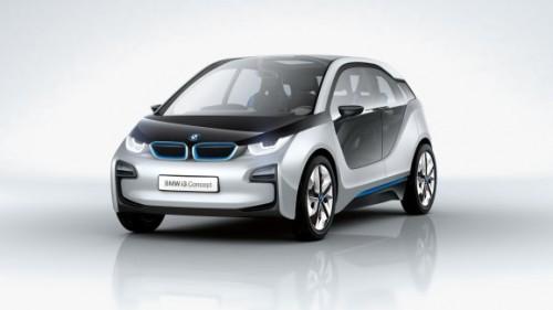La voiture électrique i3 de BMW