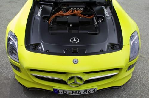 La Mercedes SLS AMG e-cell