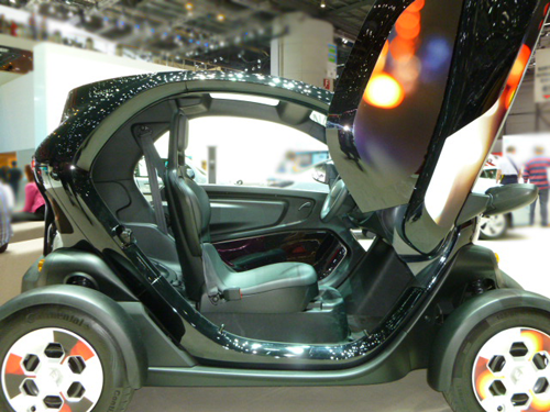 prix et versions de la renault twizy voiture electrique. Black Bedroom Furniture Sets. Home Design Ideas