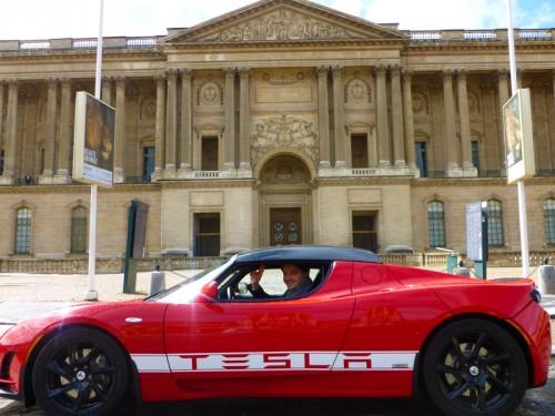 test tesla roadster