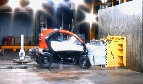 renault twizy ZE crash test