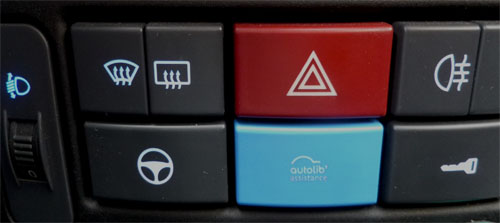 Les bouttons d'assistance Autolib'