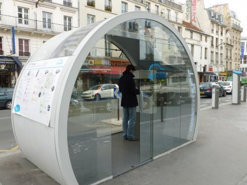 Abonnement dans une station Autolib'