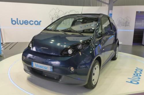 La Bolloré Bluecar de série au Mondial de l'auto