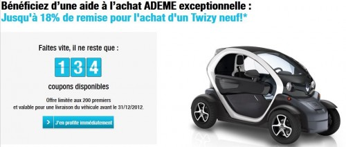 renault twizy ze voiture electrique page 2. Black Bedroom Furniture Sets. Home Design Ideas
