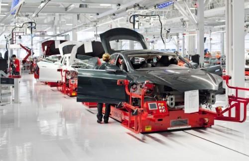 Production de la Tesla Model S