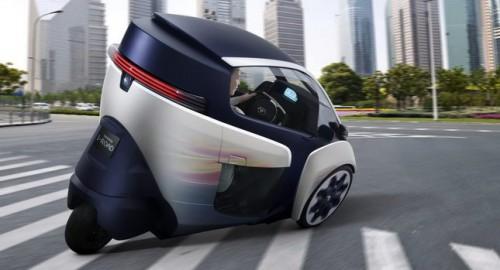 Toyota i-road electrique : 85cm de large