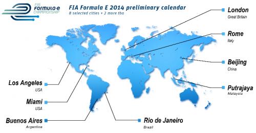 Championnat Formule E : les grands prix de voitures électriques
