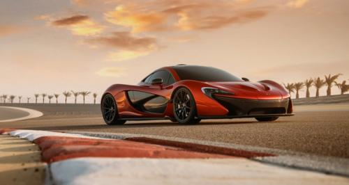 McLaren P1 hybride rechargeable