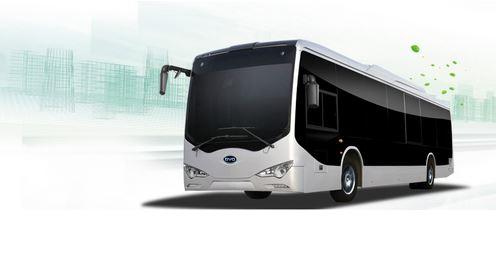 25 bus électriques BYS à Los Angeles