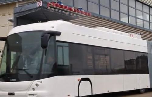 Les bus électriques ABB sont rechargeables en 15 secondes