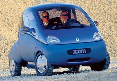 La Renault Zoom électrique de 1992 est en quelque sorte l'ancêtre de la Twizy