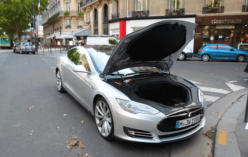 test notre essai de la tesla model s voiture electrique. Black Bedroom Furniture Sets. Home Design Ideas