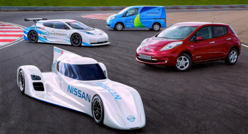 nissan sortira 5 voitures lectriques avec recharge sans fils voiture electrique. Black Bedroom Furniture Sets. Home Design Ideas