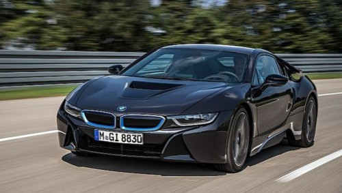 la bmw i8 de s rie d voil e francfort voiture electrique. Black Bedroom Furniture Sets. Home Design Ideas