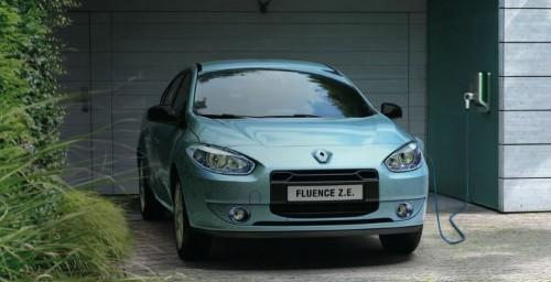 Renault fluence ze voiture electrique for Arret voiture garage