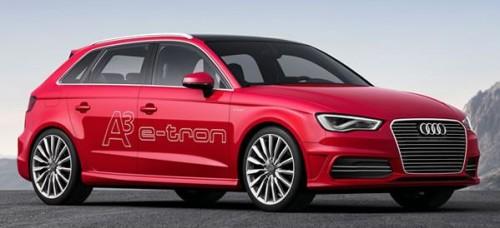 L'Audi A3 e-tron électrique