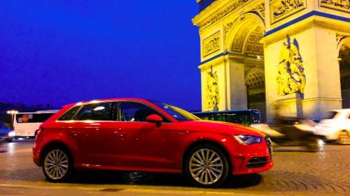 L'essai de l'Audi A3 e-tron