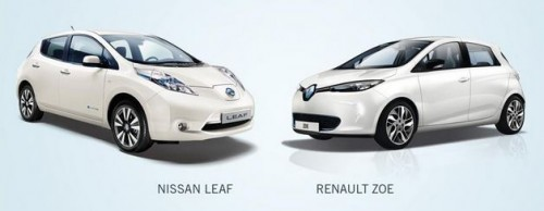 Ventes de voitures électriques Renault Nissan