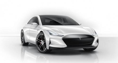L'avant de la Youxia X ressemble à la Tesla Model S