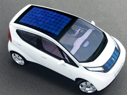 panneau solaire voiture electrique