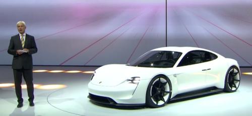 Baisse des salaires chez Porsche pour produire la Mission E