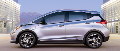 Chevrolet Bolt 2016 100% électrique