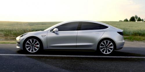 La Tesla Model 3 électrique